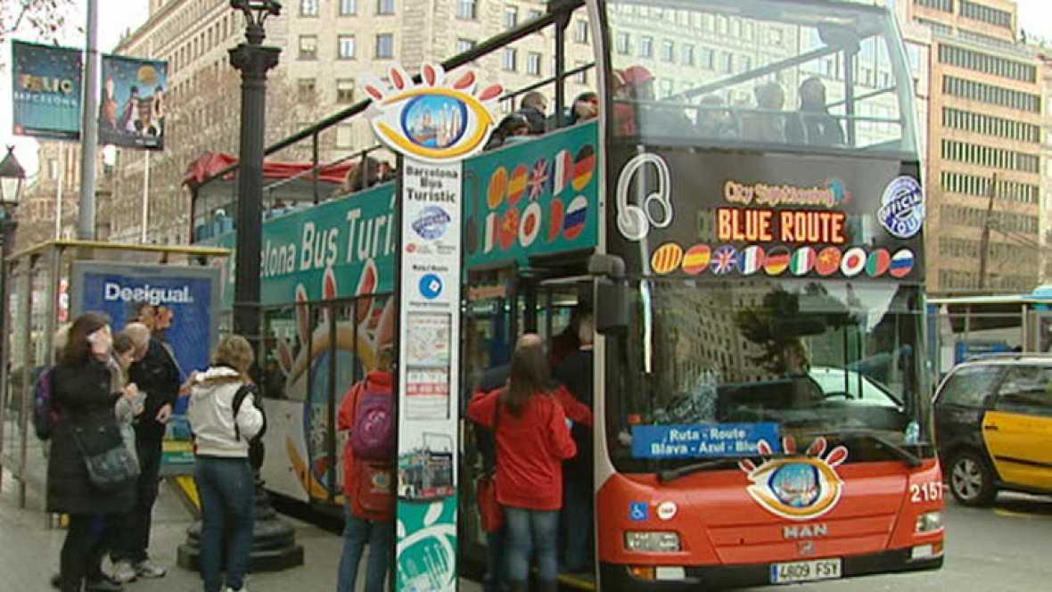 España recibió el año pasado casi 57 millones de turistas