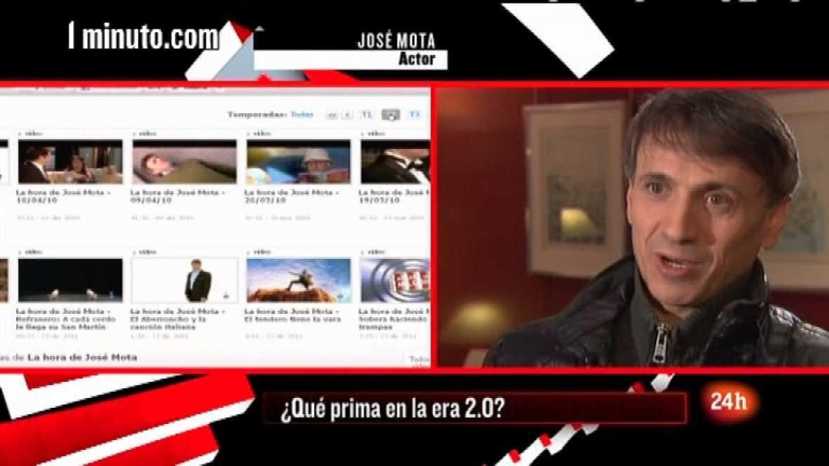 Cámara abierta 2.0 - José Mota en 1minuto.COM, Post Secret, la banda de rock Luz Verde y el blog La Ciencia de la Vida - 14/01/12 - Ver ahora