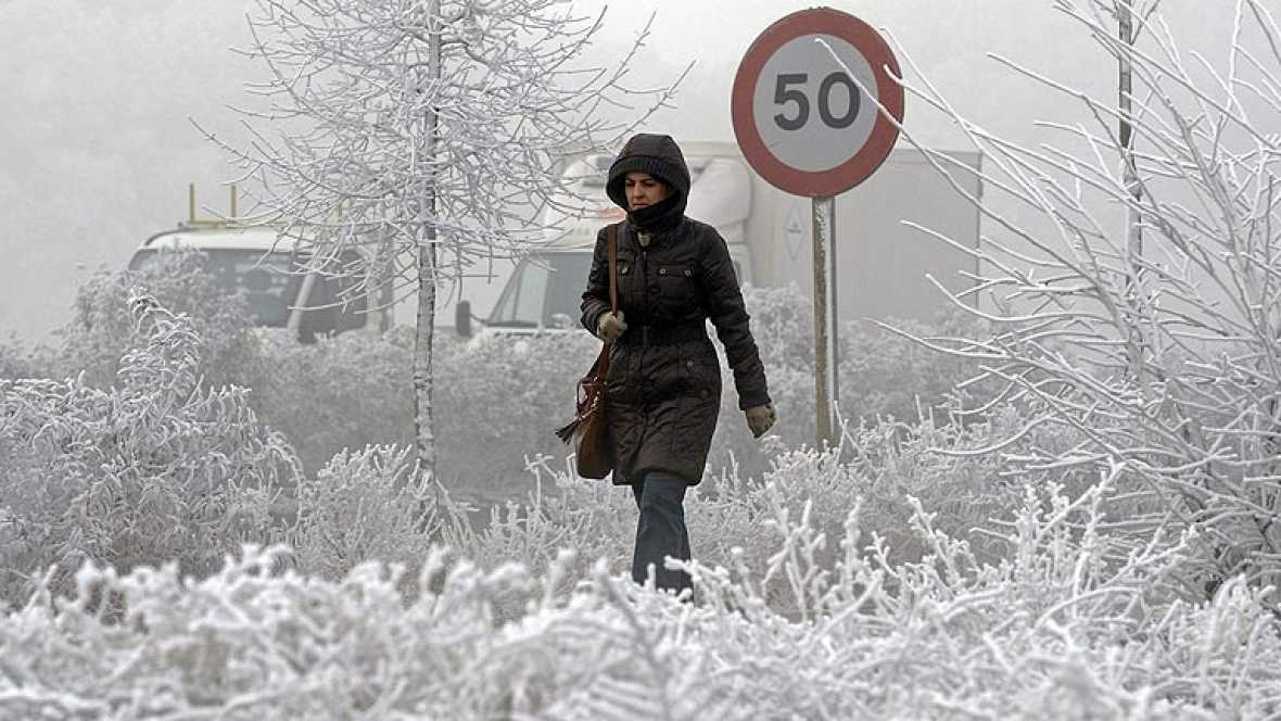 Un total de 23 provincias en alerta por nieve este lunes