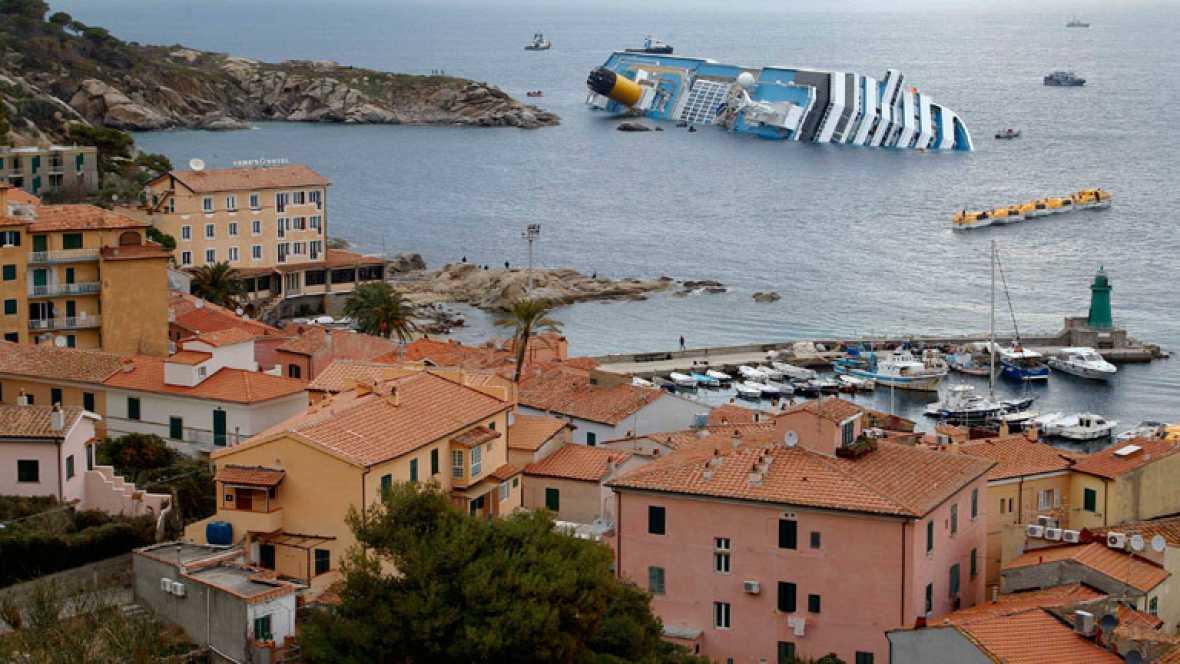 Uno de los dos cadáveres hallados en el interior del crucero pertene al español desaparecido