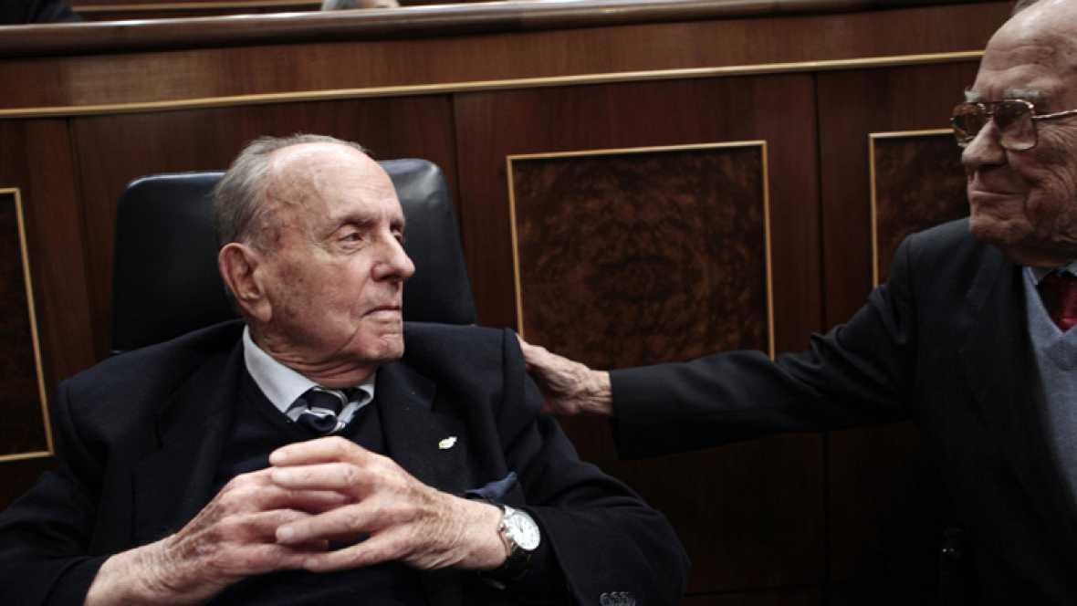 Manuel Fraga pasará a la historia como uno de los padres de la Constitución