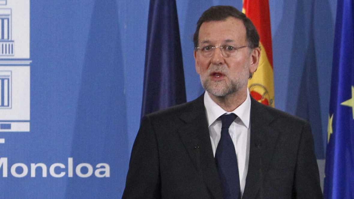 """Rajoy descarta subir los impuestos en los próximos meses aunque """"nada es para siempre"""""""