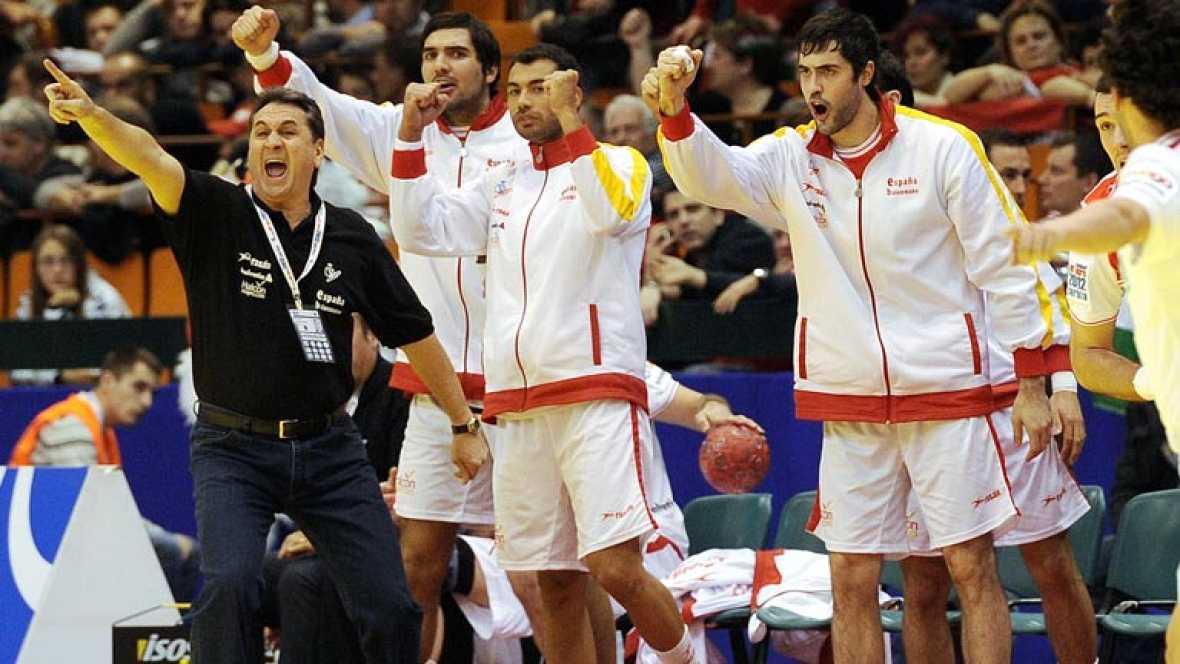 España decide el partido ante Francia