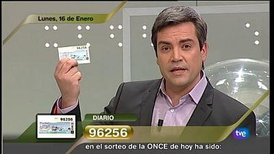 Sorteo ONCE - 16/01/12 - Ver ahora