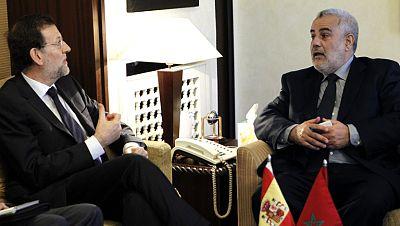 Primera visita internacional como presidente del Gobierno de Rajoy