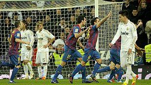 El Real Madrid se atraganta con el Barcelona