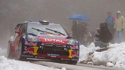 Loeb acaricia la victoria en Montecarlo