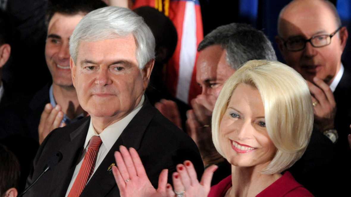 Gingrich da la vuelta a las primarias en Carolina del Sur