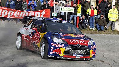Sebastian Loeb gana en Montecarlo