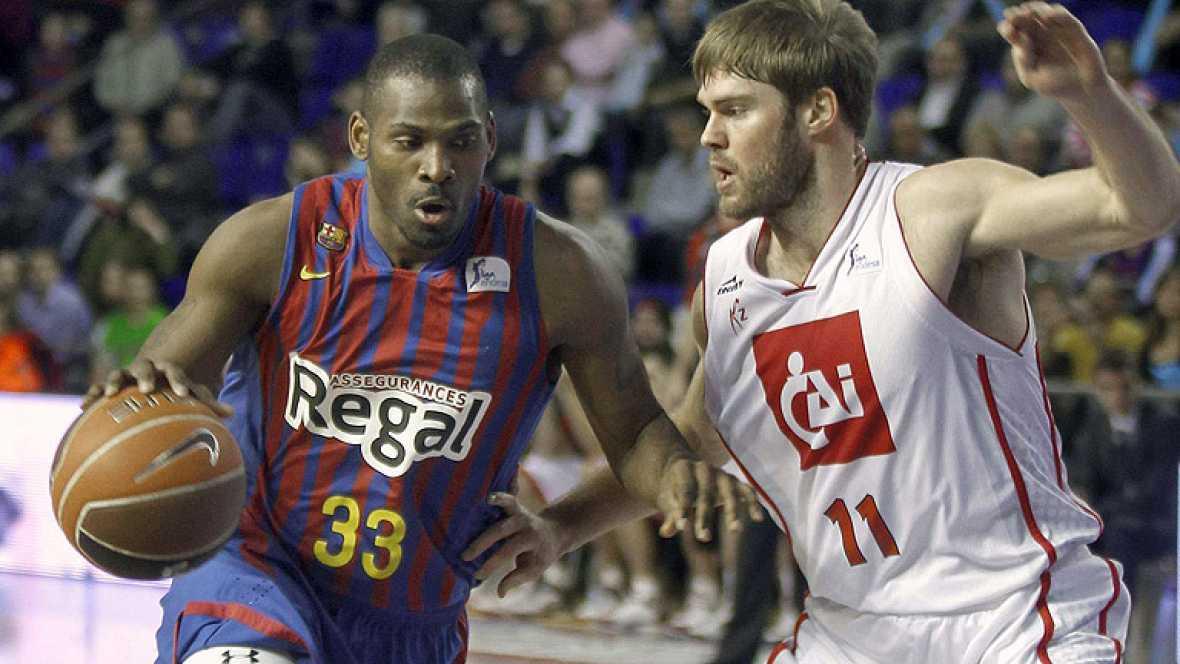 El Barcelona Regal ha sufrido para derrotar en casa al CAI Zaragoza, pero finalmente la actuación de Navarro resultó decisiva para la victoria azulgrana.