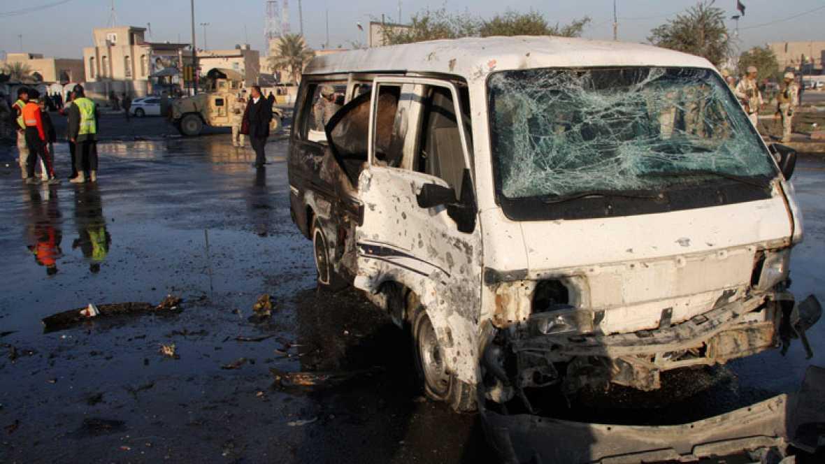 Siete muertos y más de treinta heridos en dos explosiones en un barrio chií de Bagdad