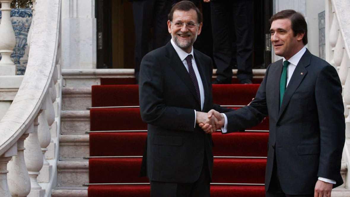 Rajoy se reúne con su homologo en Portugal al igual que lo hizo en Marruecos