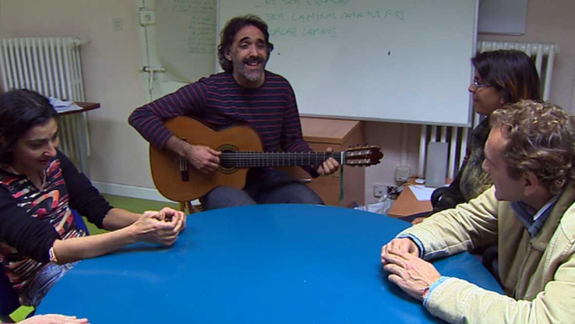 Taller de música para personas sin hogar