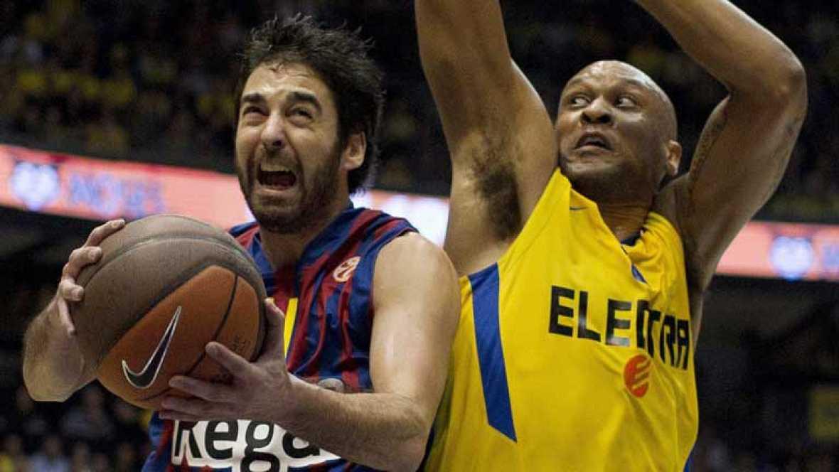 Gran partido del Barcelona en la cancha del Maccabi de Tel-Aviv que le situa en la senda de los cuartos de final de la Euroliga de baloncesto. 71-57 para los de Xavi Pascual.