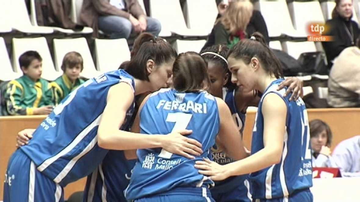 Baloncesto: Liga femenina - Girona F.C.-Soller Bon Dia - 28/01/12 - Verahora