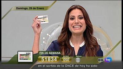 Sorteo ONCE - 29/01/12 - Ver ahora