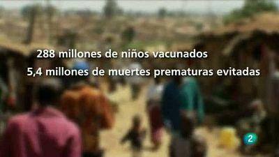Para todos La 2 - GAVI alliance promueve la vacunación infantil - Entrevista a Tomás Lahuerta