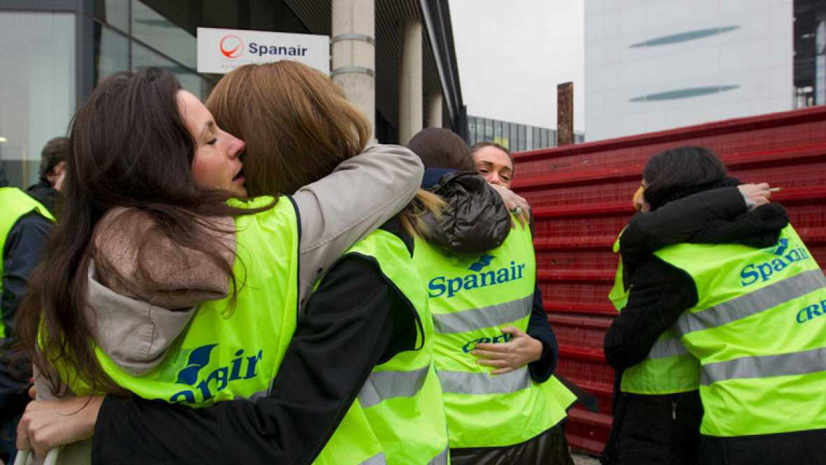 Los responsables de Spanair y los sindicatos coinciden en liquidar Spanair lo antes posible