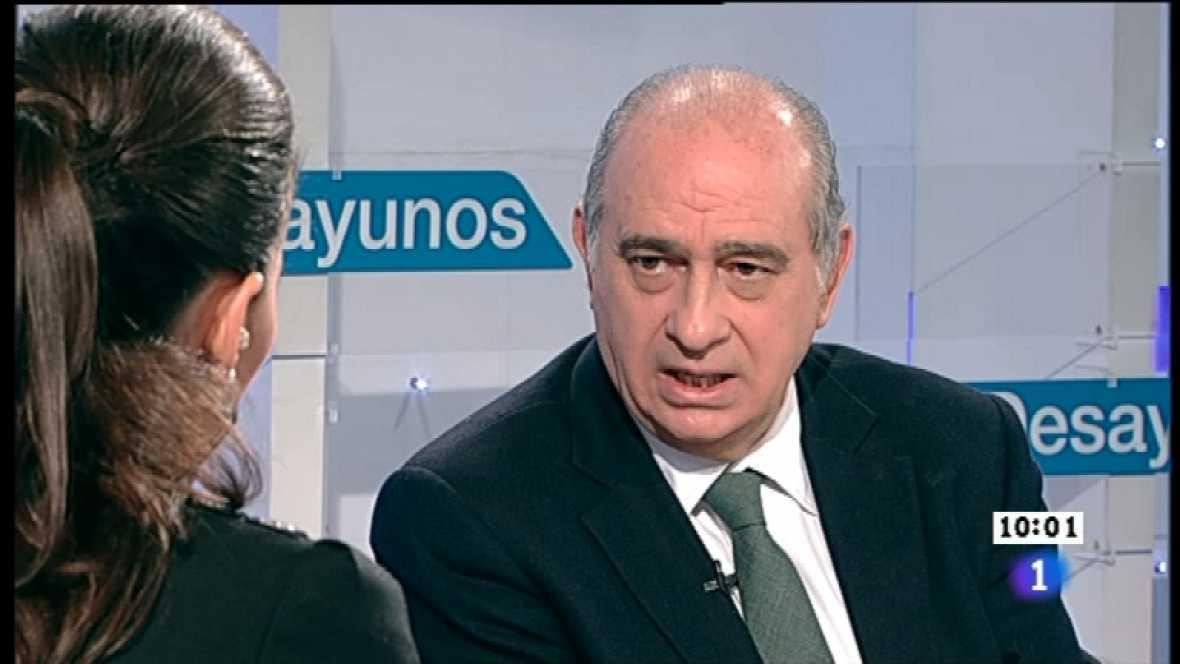 Los desayunos de TVE - Jorge Fernández Díaz, ministro del Interior - Ver ahora