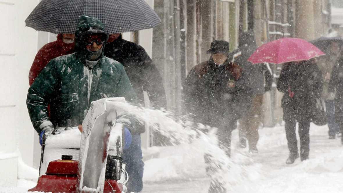 La ola de frío siberiano sigue afectando de pleno buena parte de España.