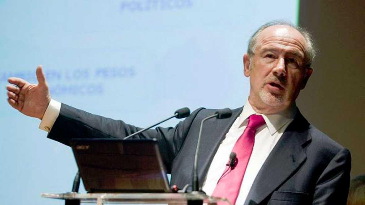 Una rebaja del 75% en las retribución de Rodrigo Rato como presidente de Bankia