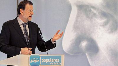 Rajoy participa en un homenaje a Manuel Fraga del PP de Galicia