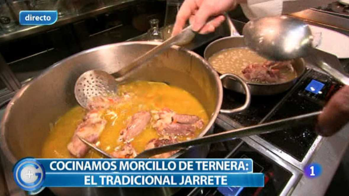 Más Gente - Más Cocina - Jarrete de ternera