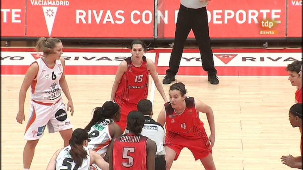 Baloncesto: Liga femenina - Rivas Ecópolis - Caja Rural Tintos de Toro - 11/02/12 - Ver ahora
