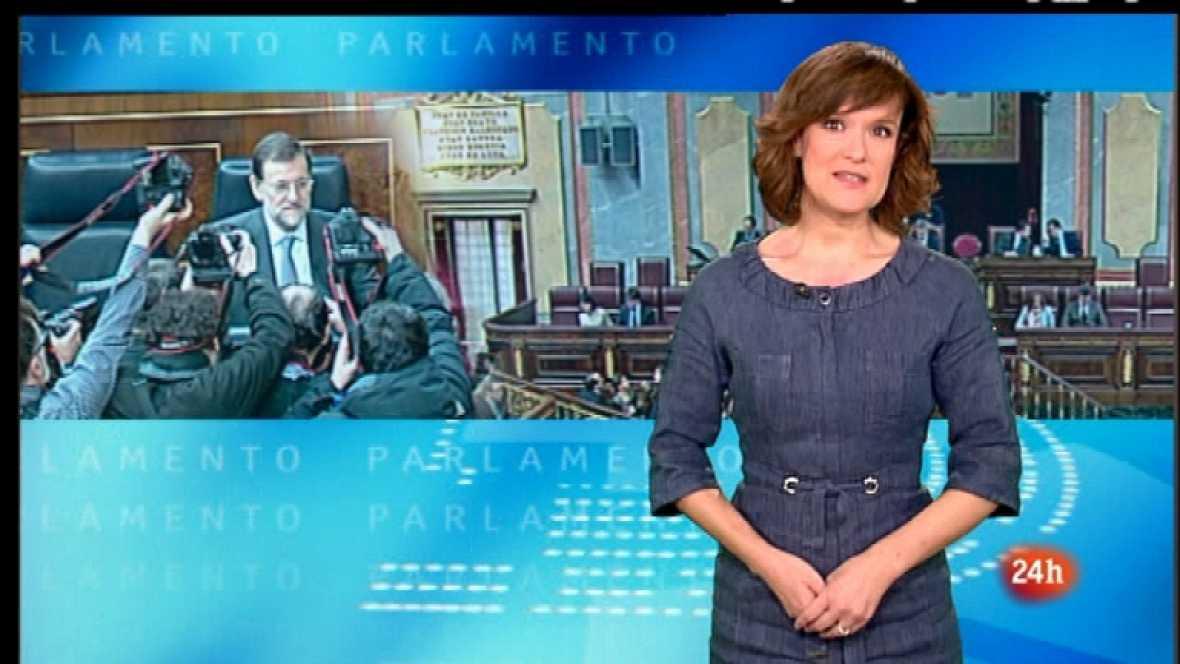 Parlamento - Rajoy-Rubalcaba: Primer duelo - 11/02/12 - Ver ahora