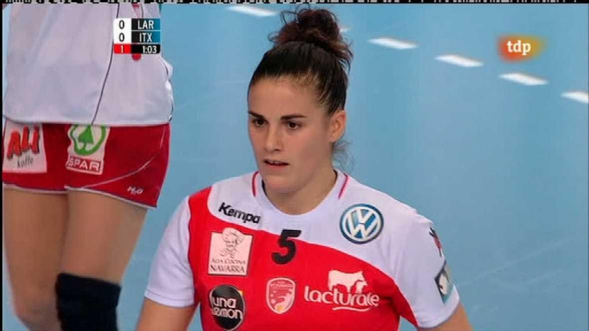 Balonmano - Liga de campeones femenina: Larvik - Grupo Asfi Itaxako Reyno de Navarra - 12/02/12 - Ver ahora
