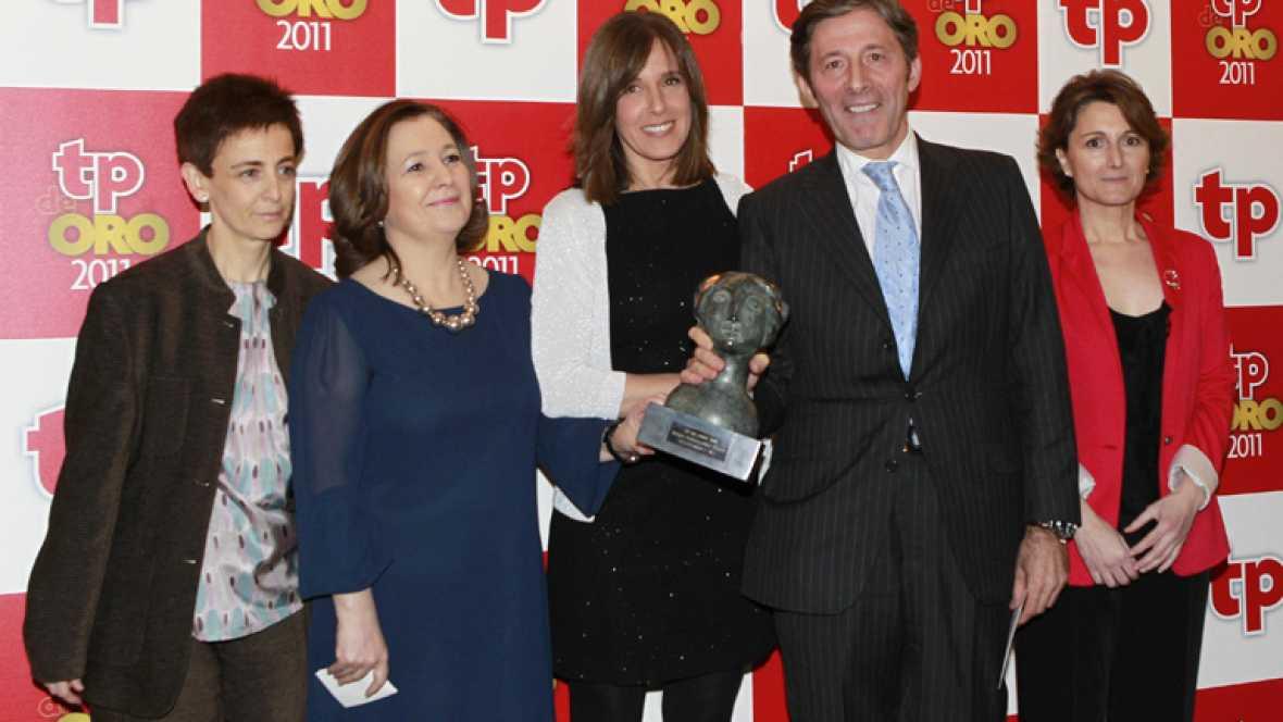 TVE arrasa en los premios TP