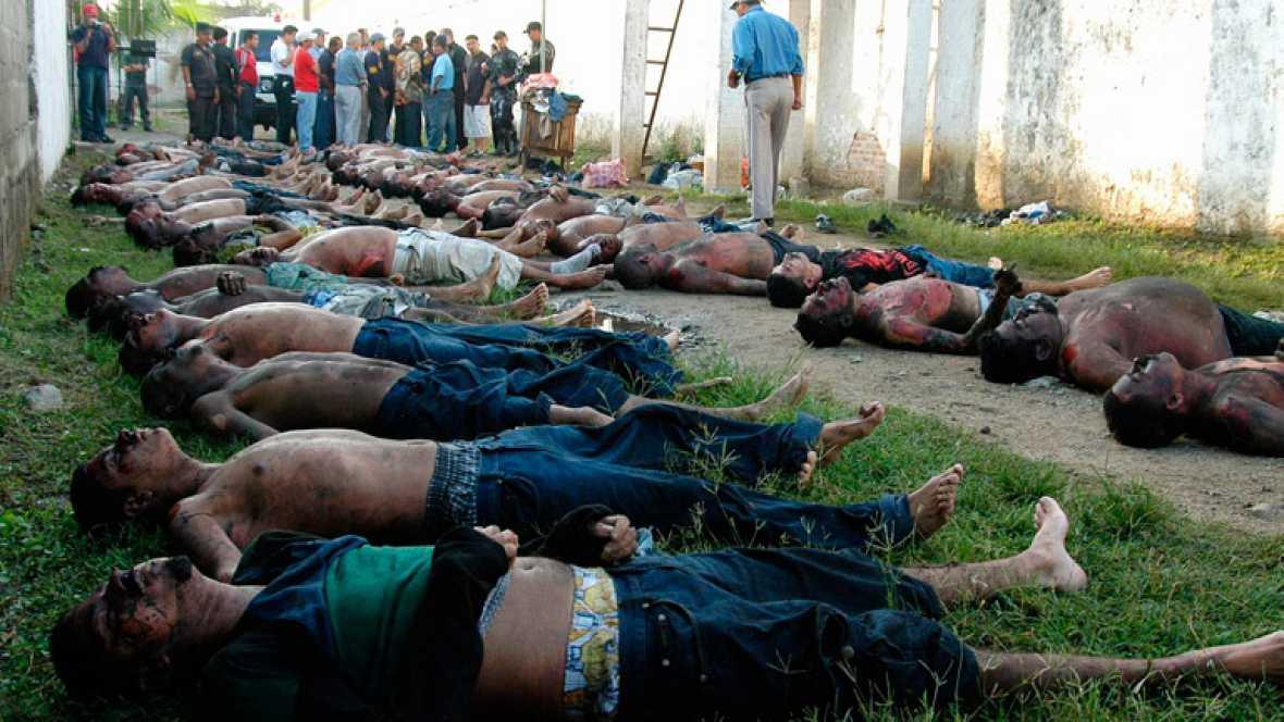 Cientos de muertos en un incendio en una cárcel de Honduras