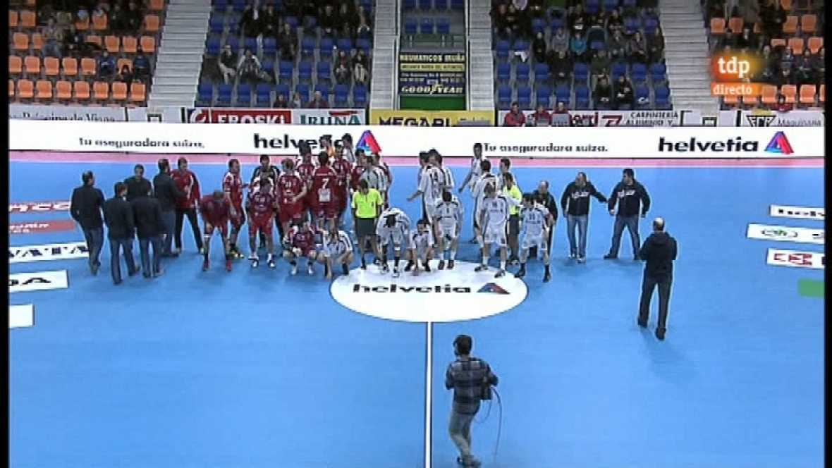 Balonmano - Liga ASOBAL. Helvetia Anaitasuna-Reale Ademar León - 15/02/12 - Ver ahora