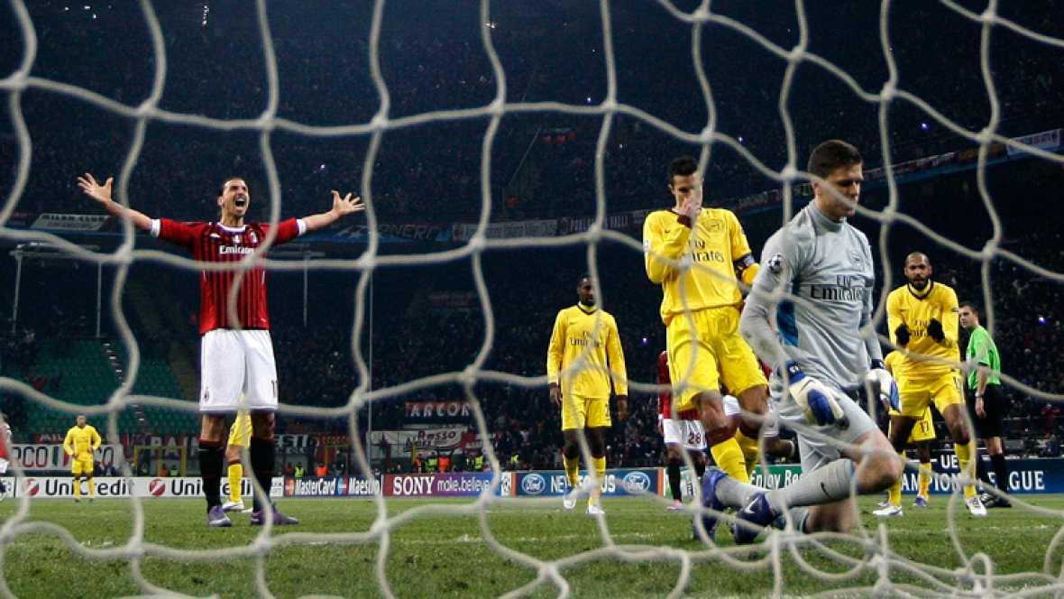 Ibrahimovic aplasta al Arsenal