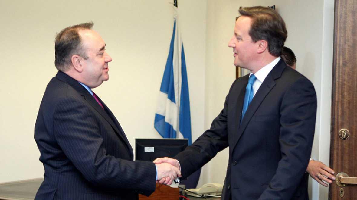 Cameron defiende la permanencia de Escocia en el Reino Unido