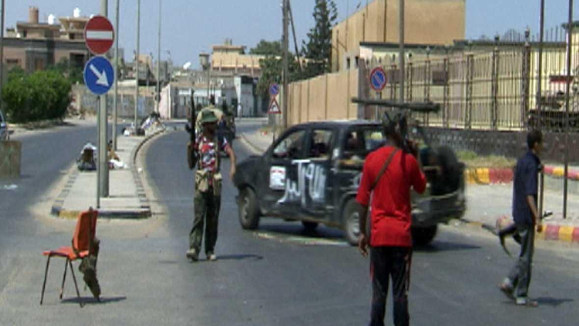 Aniversario de la revolución Libia que acabó con el régimen de Gadafi