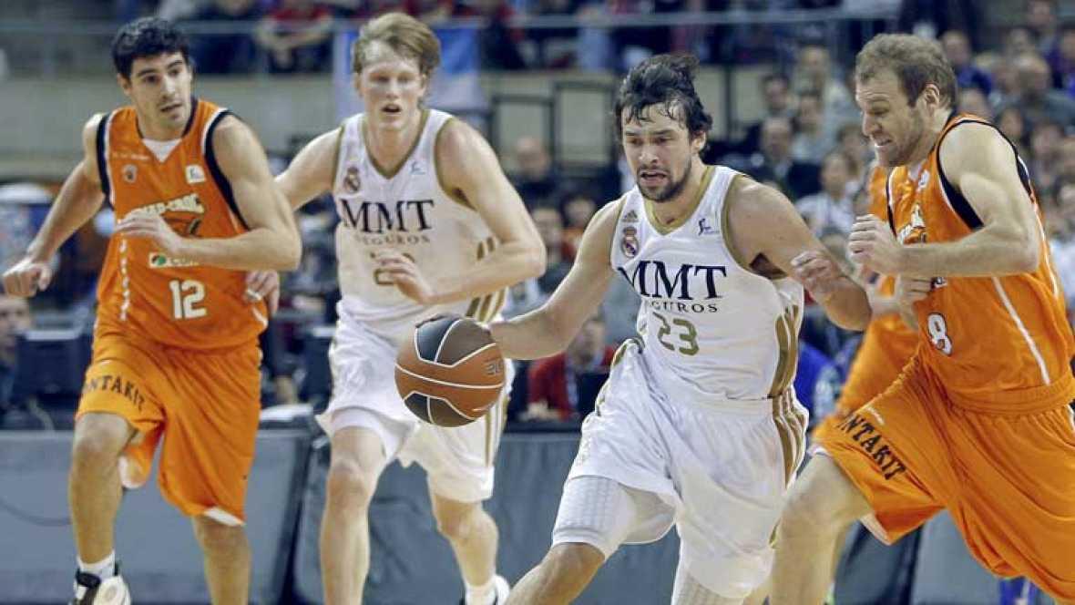 El Real Madrid se mete en semifinales de la Copa del Rey de baloncesto después de ganar a un más que digno Mad-Croc Fuenlabrada (75-66) en el último partido de cuartos de final del torneo, que se disputa en el Palau Sant Jordi de Barcelona.
