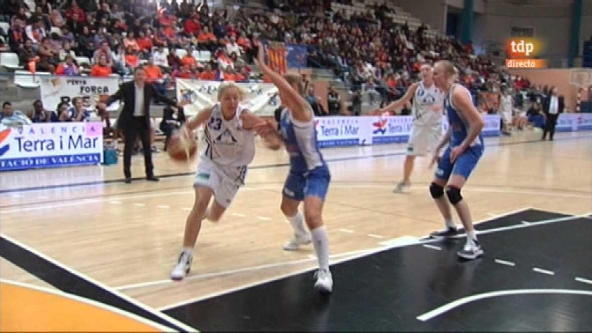 Baloncesto - Liga española femenina 21 jornada - 18/02/12 - Ver ahora