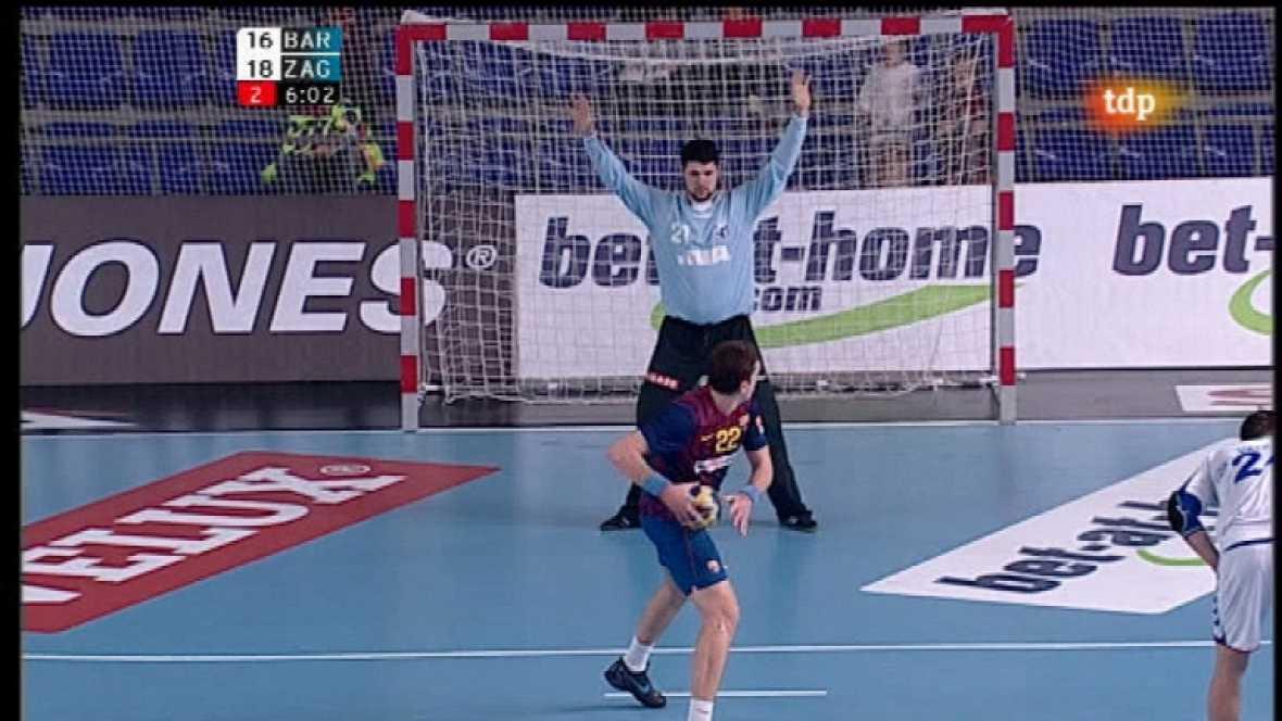 Balonmano - Liga de campeones EHF: FC Barcelona Intersport-Croatia Zagreb - 19/02/12 - Ver ahora