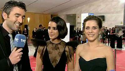 """Premios Goya 2012- María León e Inma Cuesta: """"Ya nos sentimos ganadoras"""""""
