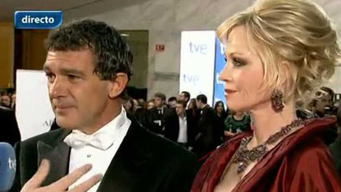 """Premios Goya 2012 - Antonio Banderas: """"Creo que este año no me toca ganar"""""""
