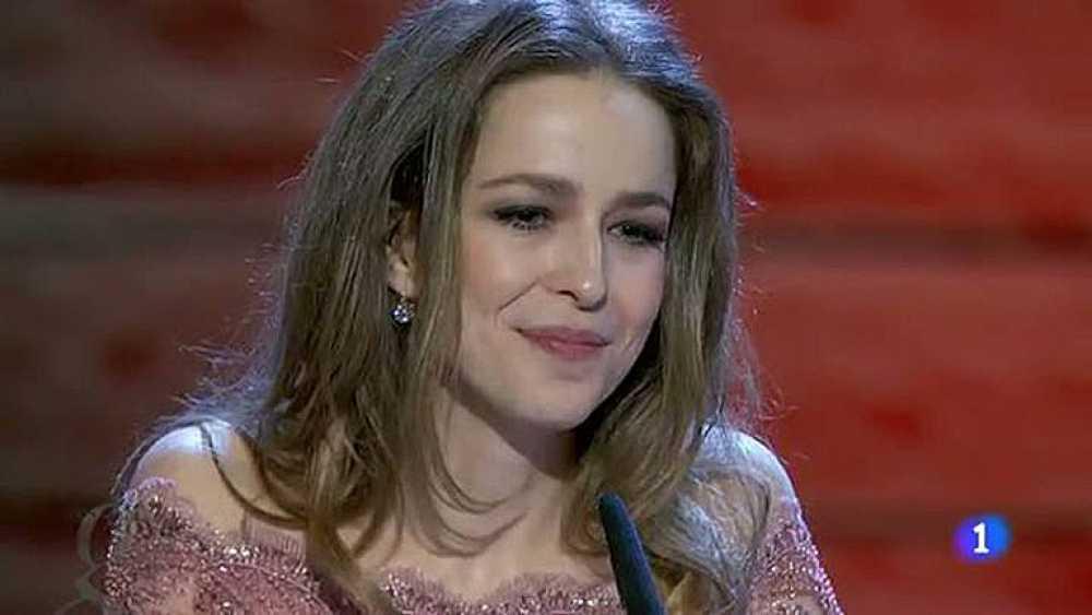 Silvia Abascal, se reencuentra con la profesión en los Goya 2012 tras un ictus cerebral