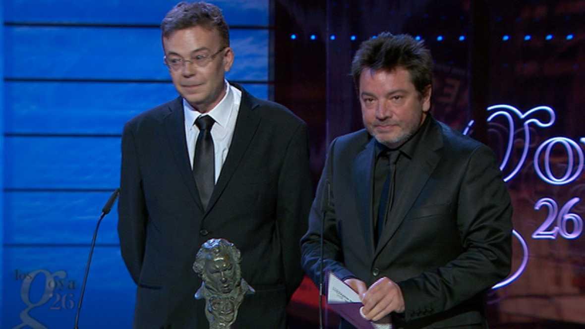 Mejor guión original - Premios Goya 2012