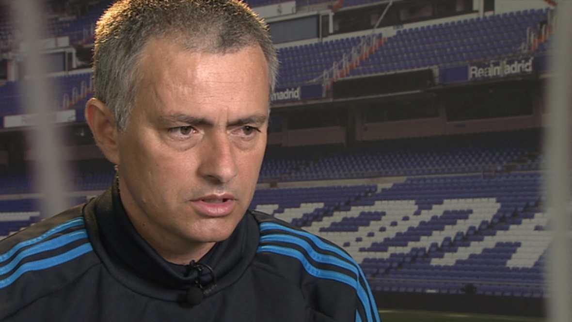 """El entrenador del Real Madrid. Jose Mourinho, ha asegurado en TVE que """"mi futuro no depende de ganar esta Champions"""". """"No me marché de los sitios por conseguir la Champions"""", ha dicho."""