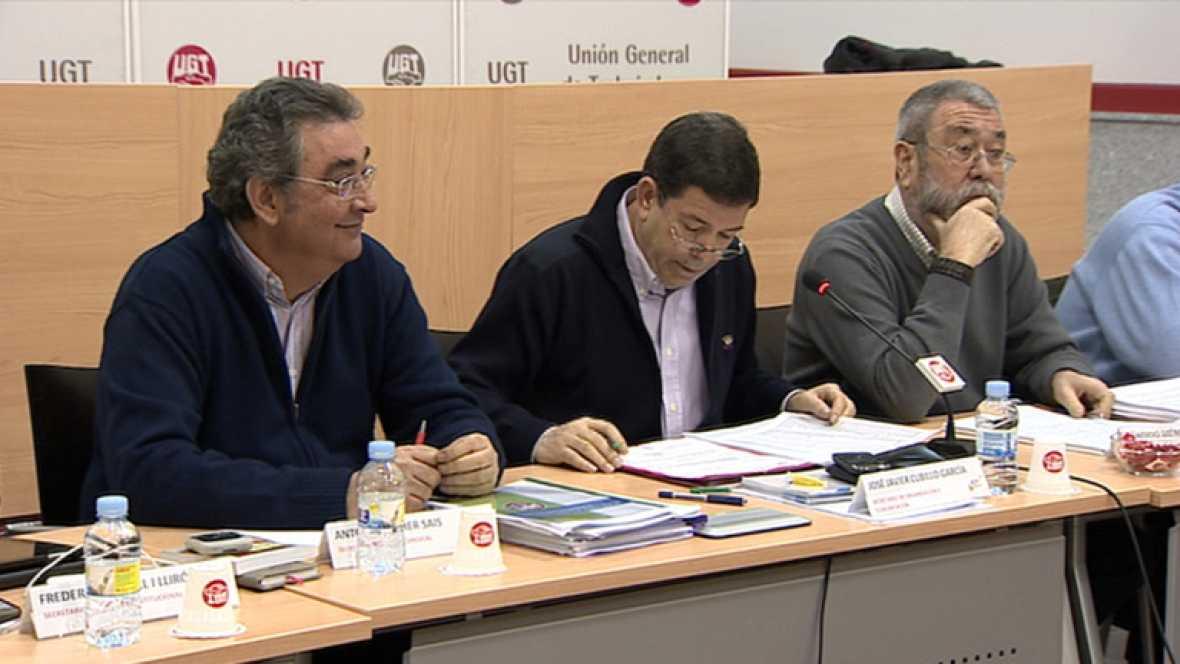 Los secretarios generales de UGT y CCOO piden a Rajoy un consenso sobre la reforma laboral