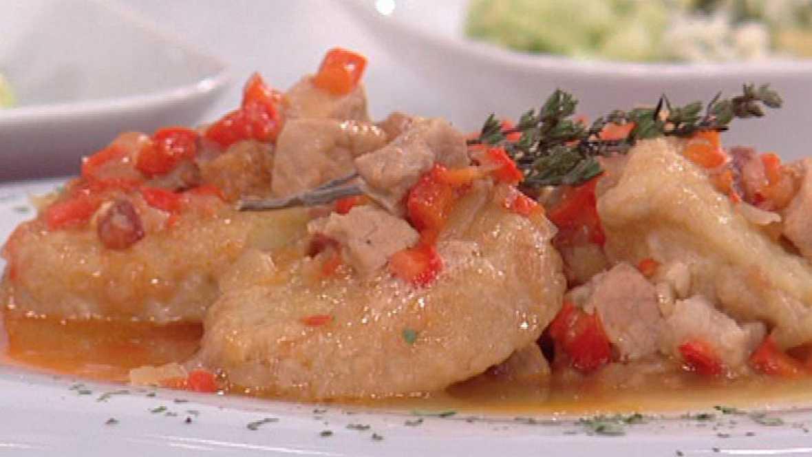 Patatas ibéricas a la importancia (23/02/2012)