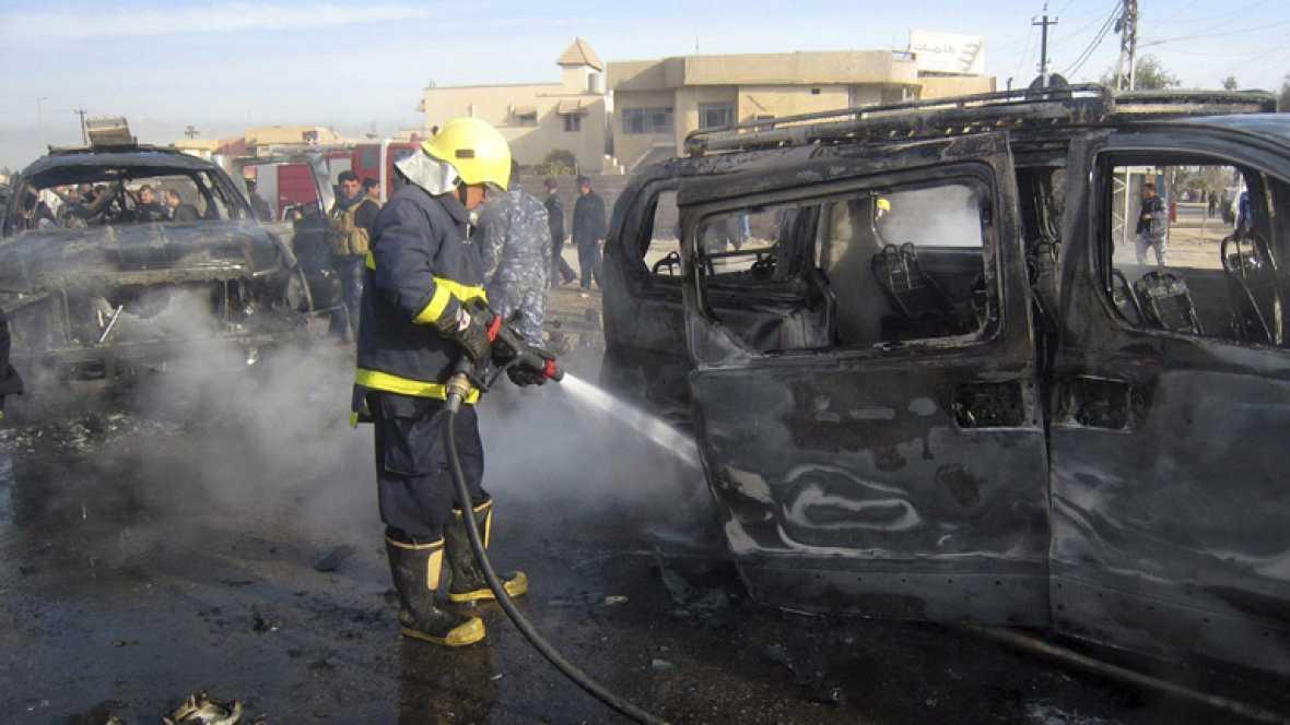 Cadena de atentados en Irak