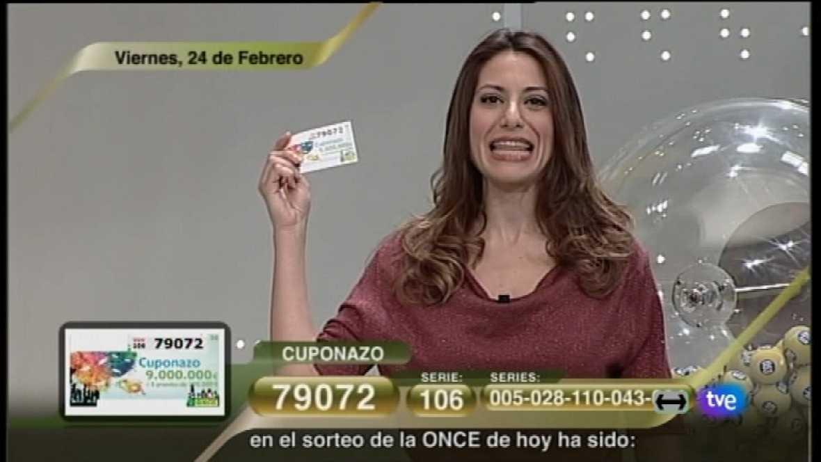 Sorteo ONCE - 24/02/12 - Ver ahora