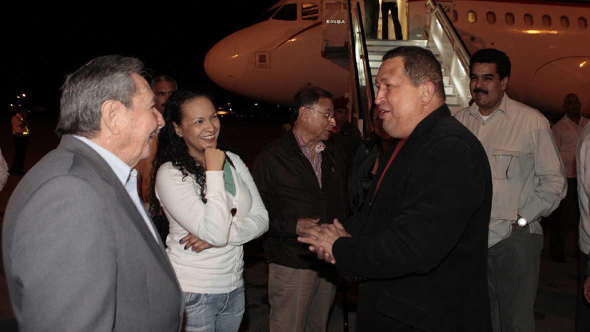 El presidente venezolano Hugo Chávez ha llegado a La Habana