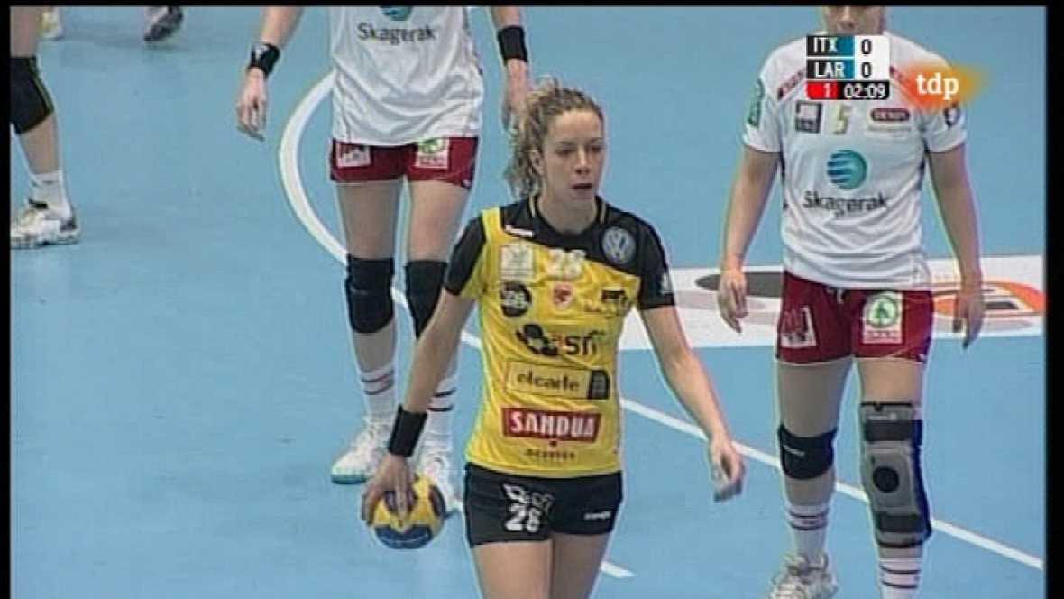 Balonmano - Liga de Campeones Femenina - Itxako Reyno de navarra-Larvik - Ver ahora